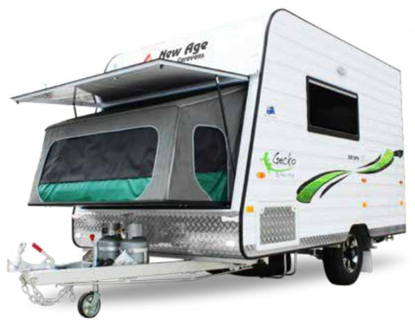 compact lightweight caravan hero image