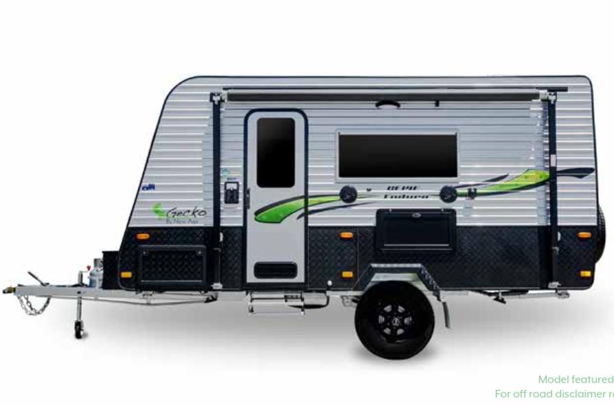 New Age Single Axle offroad caravan