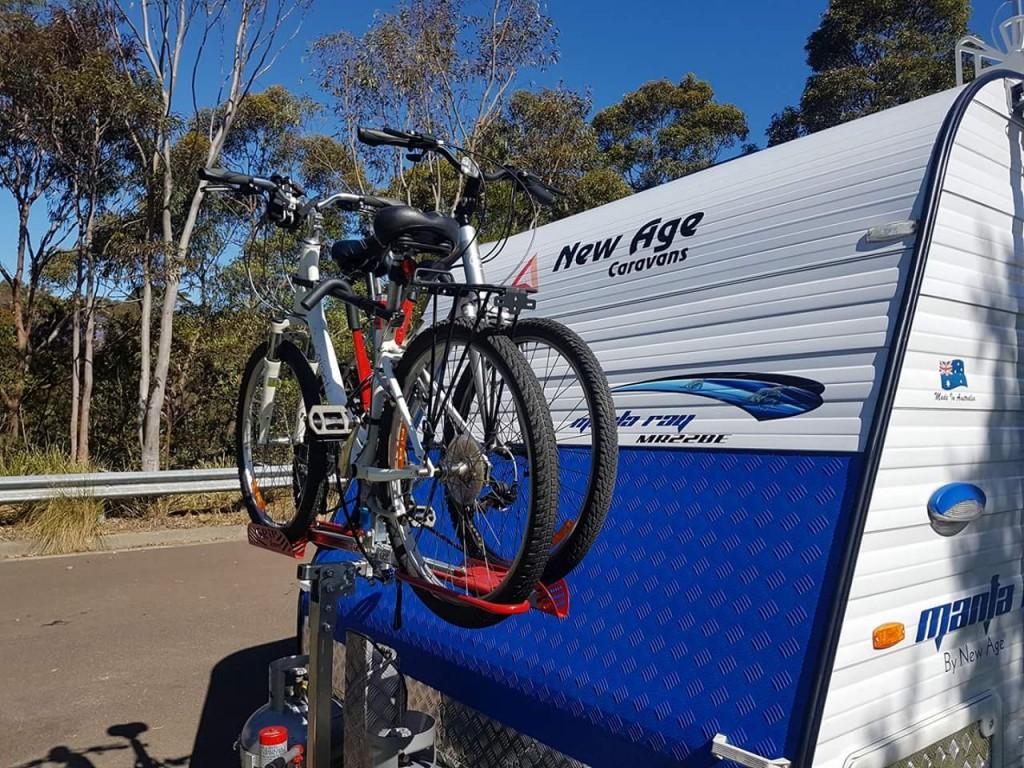 Heavy Duty Gripsport Bike Rack New Age Caravans Gold Coast