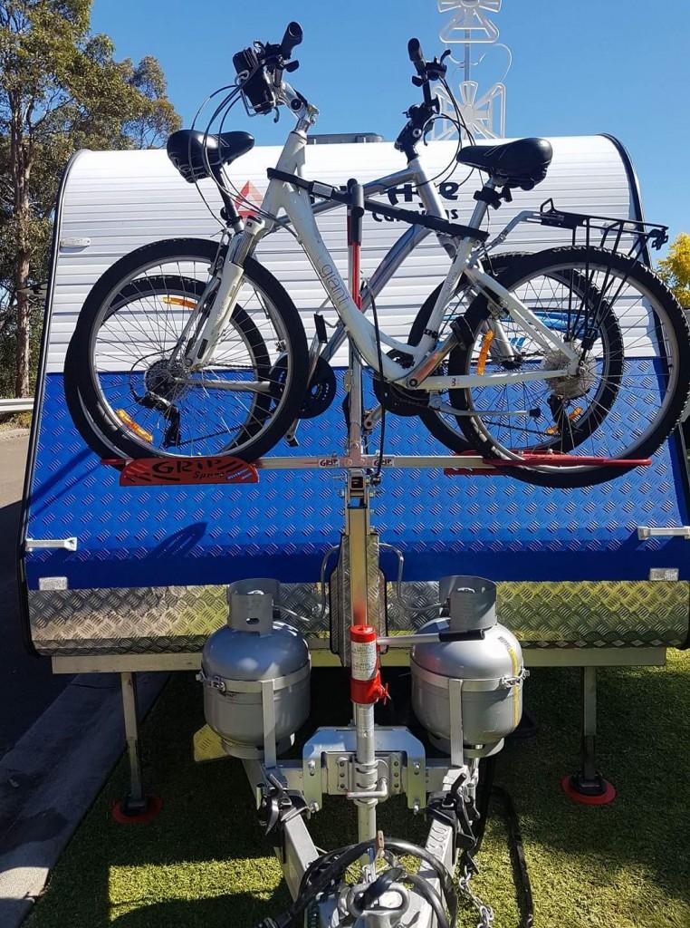 Heavy Duty Gripsport Bike Rack