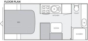 RO16ER layout