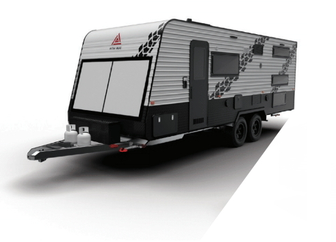 toy hauler release by new age caravans