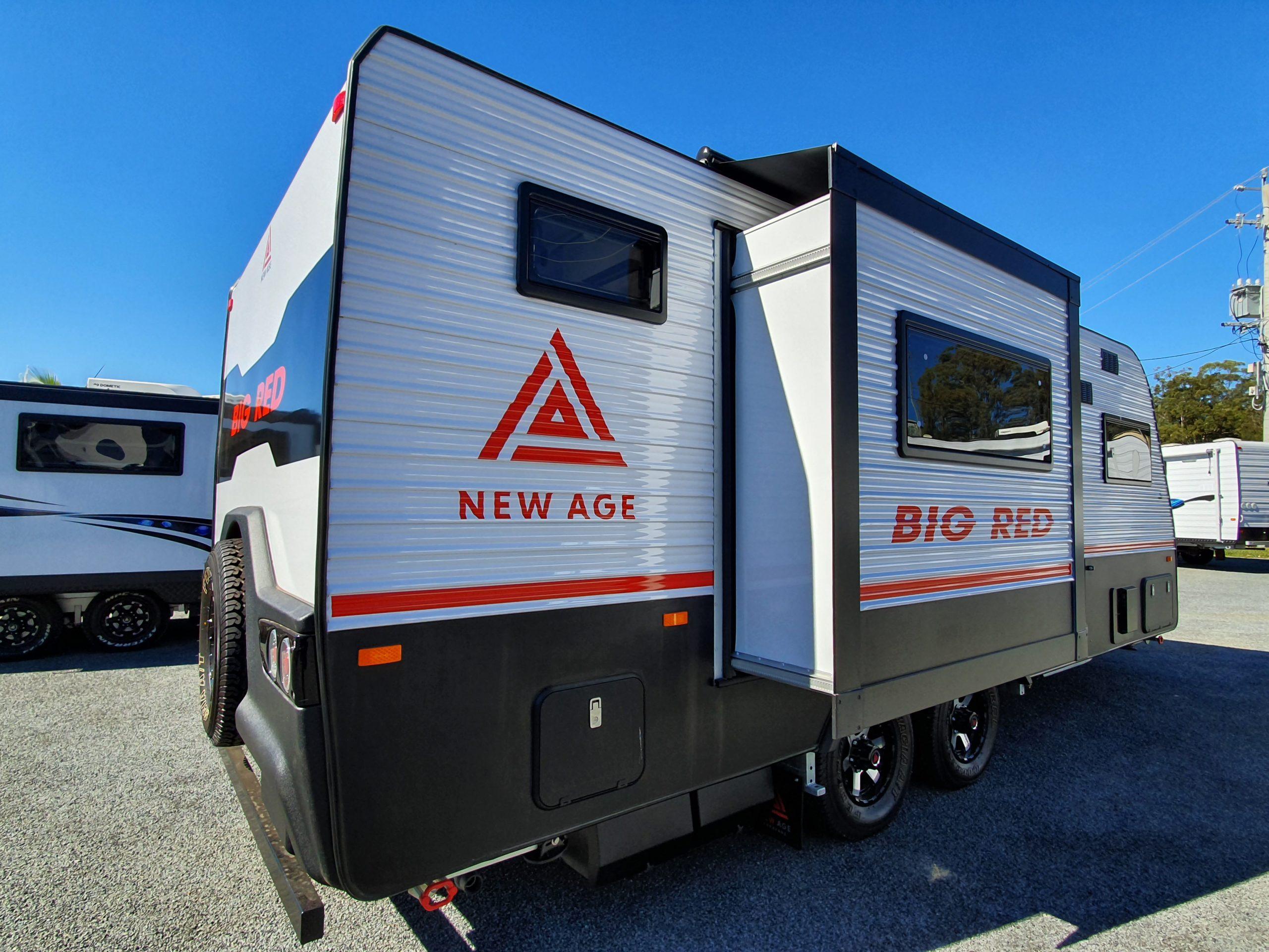 roadside caravan sliding system