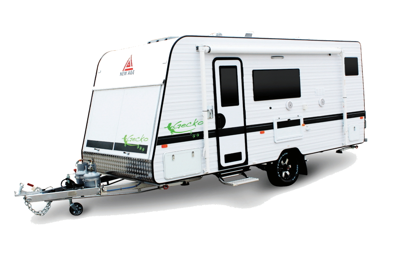 New Age Gecko Caravan White
