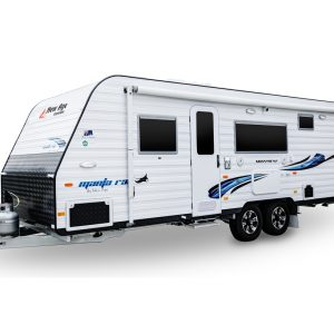 New Age Bunk Family Caravan exterior