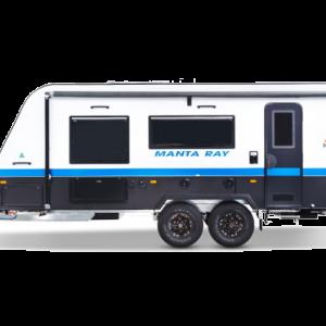 New Age Manta Ray caravan white