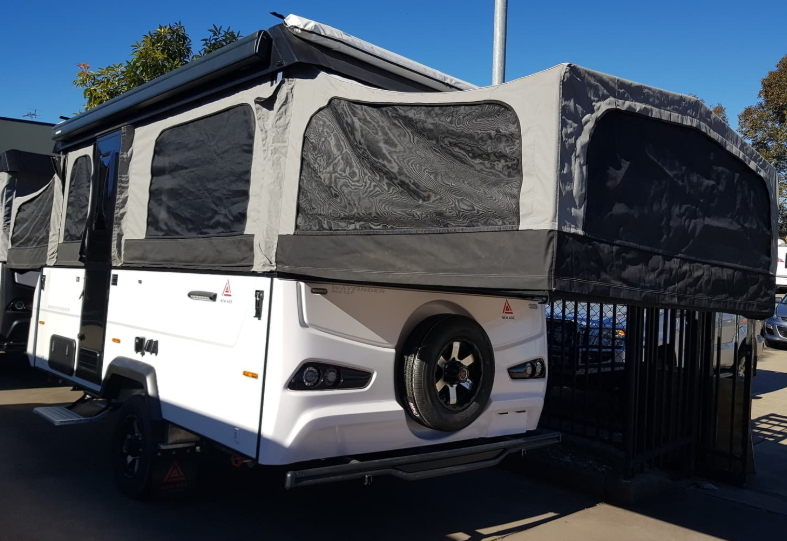 New Age external picture of a camper for the family