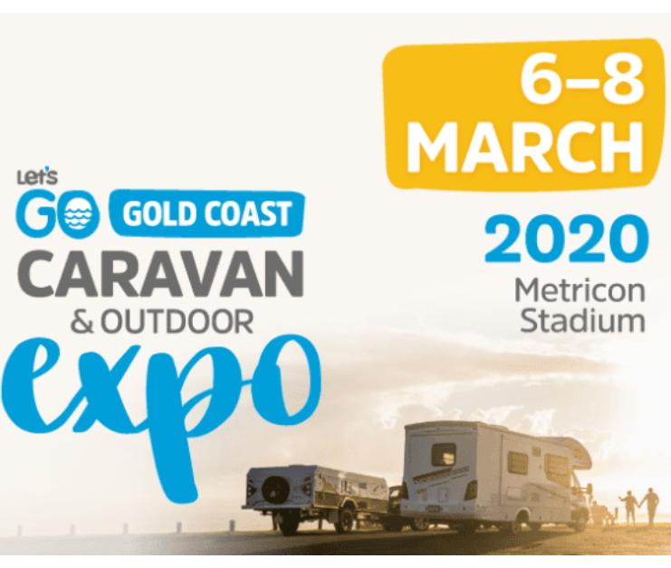 gold coast caravan show logo