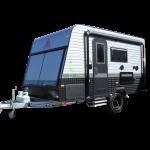 compact offroad caravan