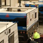 caravan manufacturing and assembly line